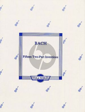 Bach 15 2 part Inventions 2 Violas