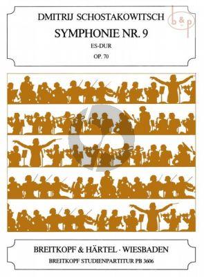 Symphony No.9 Op.70 E-flat major