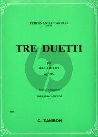 Carulli 3 Duetti Op.285 2 Guitars (Caliendo)