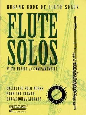 Rubank Book of Flute Solos (with Piano Accomp.) (easy level)