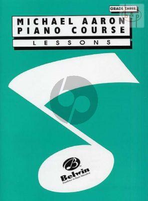 Piano Course Lessons Grade 3