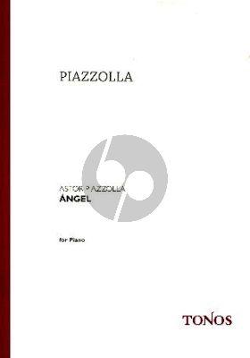Piazzolla Angel (Album) Piano solo