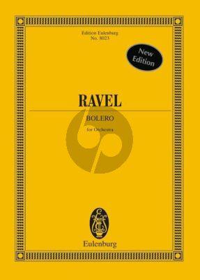 Ravel Bolero für Orchester (Studienpartitur) (Arbie Orenstein)