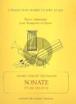 Telemann Sonata d-minor Trumpet and Organ (arr. Marie-Claire Alain)