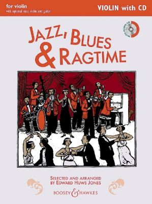 Huws Jones Jazz-Blues & Ragtime for Violin (Violin Solopart with CD)