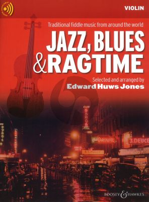 Huws-Jones Jazz-Blues & Ragtime for Violin Violin Solopart with Audio Online