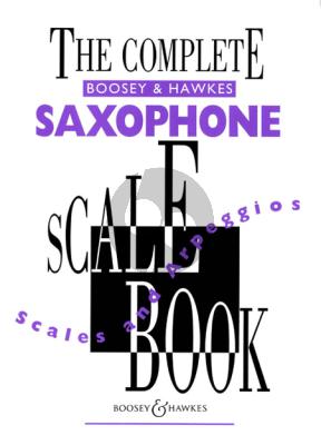 Album Complete Boosey Scale & Arpeggios Book Various Composers