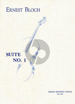 Bloch Suite No.1 (1956) Violoncello solo