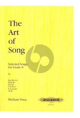 Album Art of Song Grade 8 Medium Voice (Songs and Arias Singing Syllabus ABRSM)