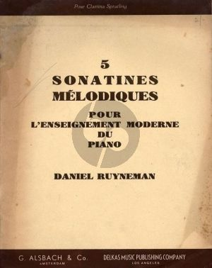5 Sonatines Melodiques Piano