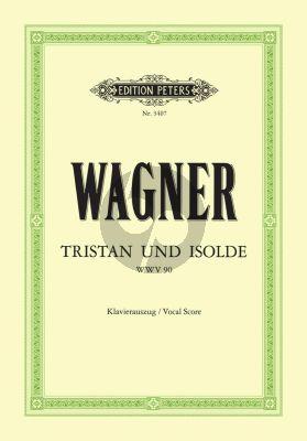 Wagner Tristan & Isolde WWV 90 Klavierauszug (Oper in 3 Akten) (Felix Mottl und Gustav F. Kogel)