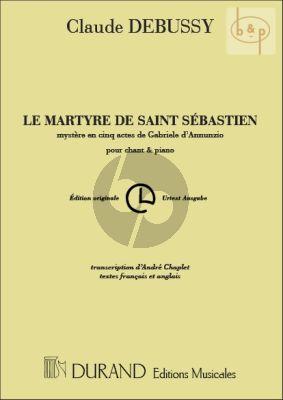 Le Martyre de Saint Sebastian (Mystere en 5 Actes) Vocal Score