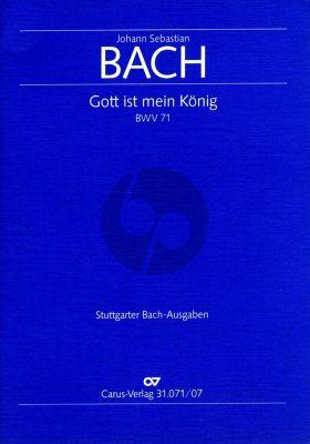 Bach Kantate BWV 71 Gott ist mein König Studienpartitur