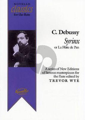 Debussy Syrinx (La Flute De Pan) Flute solo (edited by Trevor Wye)