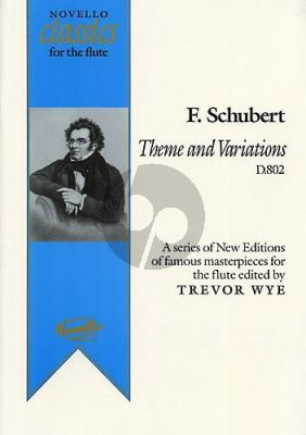 Theme & Variations D.802 Flute-Piano