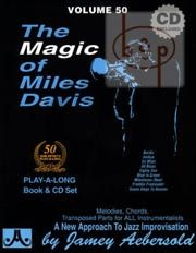 Jazz Improvisation Vol.50 The Magic of Miles Davis