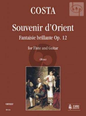 Souvenir d'Orient (Fantaisie Brillante) Op.12 (Flute-Guitar)