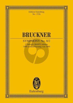 Bruckner Symphonie No. 8/2 c-moll Studienpartitur (1890 Version) (Leopold Nowak)