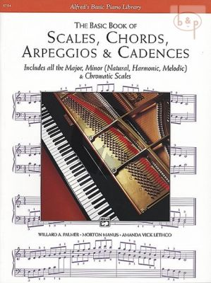 Basic Book Scales-Chords-Arpeggios-Cadences