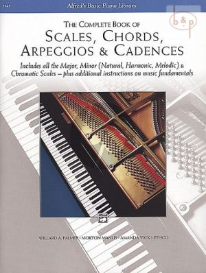 Complete Book Scales-Chords-Arpeggios-Cadences Piano
