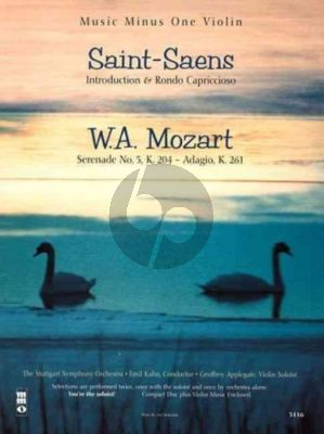 Saint-Saens Introduction & Rondo Allegro-Mozart Serenade KV 204 -Adagio KV 261 Violin