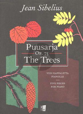 Sibelius Puusarja - The Trees 5 Pieces Op.75 for Piano