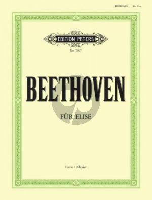 Beethoven Fur Elise a-moll WoO 59 Piano