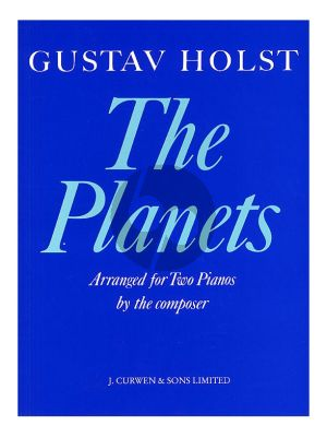 Holst The Planets (arr. for 2 Pianos by the Composer) (Score)