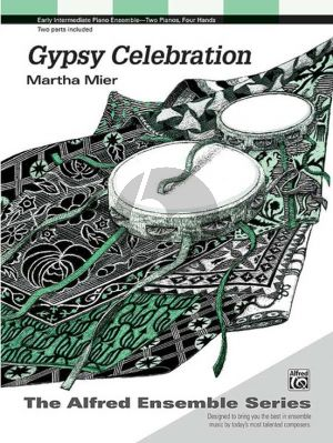 Mier Gypsy Celebration for 2 Piano's (2 copies included)