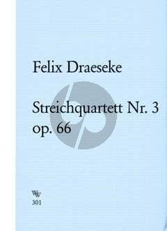 Streichquartett No.3 Op. 66 cis-moll