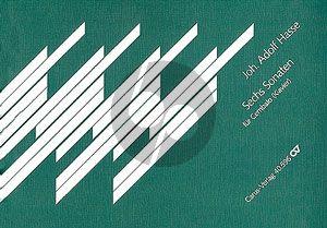 Hasse 6 Sonaten Op.7 Cembalo (Wolfgang Hochstein)