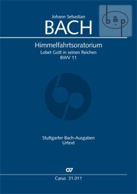 Himmelfahrt Oratorium BWV 11 (Lobet Gott in seinen Reichen) (Soli-Choir-Orch.) (Score)