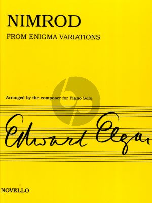 Elgar Nimrod from Enigma Variations Op.36 for Piano Solo (Arranged by the Composer)