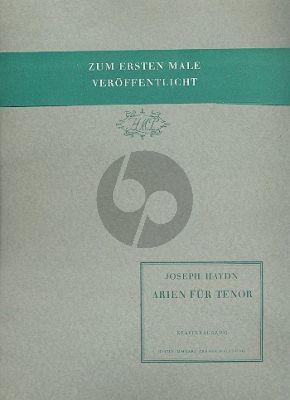 Haydn 4 Arien für Tenor und Klavier