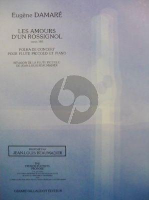 Damare Les Amours d'un Rossignol Op.160 (moyen/sup.) (Beaumadier)