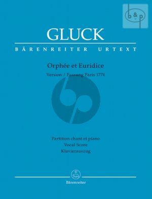 Orphee et Euridice (Pariser Fassung 1774) (Vocal Score) (french/germ.)