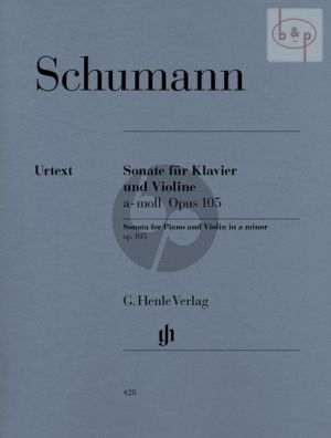 Sonate a-moll Op.105 Violine-Klavier