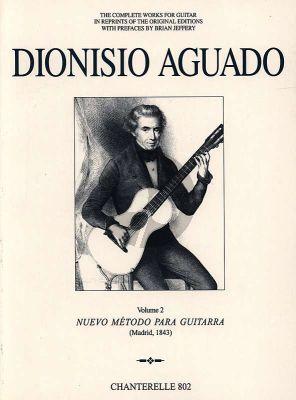 Aguado Complete Works Vol. 2 Nuevo Metodo para Guitarra (Brian Jeffery)