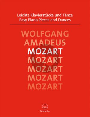 Mozart Leichte Klavierstucke und Tanze Klavier