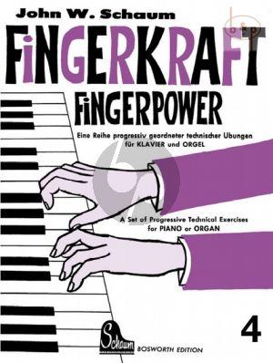 Fingerpower Vol.4 Piano