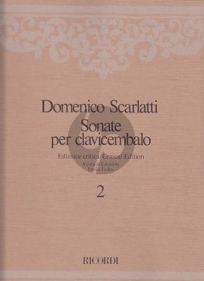Scarlatti Sonate per Clavicembalo Vol.2