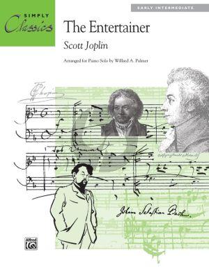 Joplin The Entertainer Piano solo (Simply Classics) (arr. Willard A. Palmer)