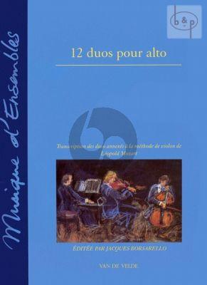 12 Duos pour Alto