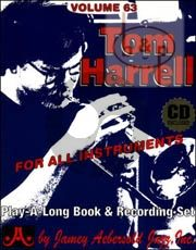 Jazz Improvisation Vol.63 Tom Harrell Jazz Originals