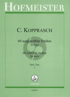 Kopprasch 60 Etuden vol.2 Horn