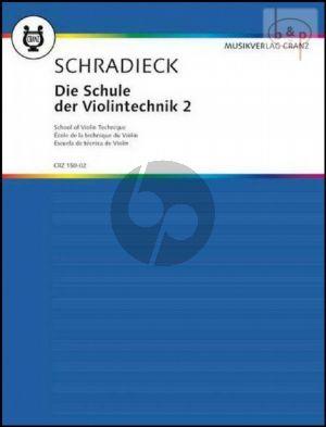 Schradieck Schule der Violintechnik Vol.2 (School of Violin Technique) (Practices in double stops)