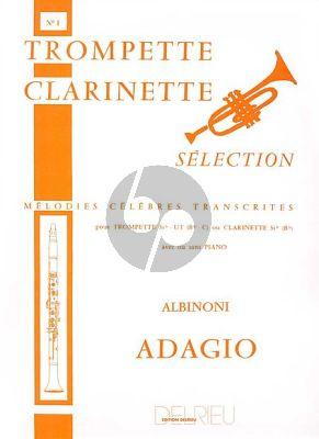 Adagio Trompette[Clar.]-Piano