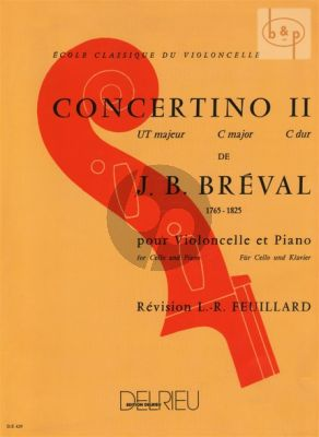 Breval Concertino No.2 C-major (Feuillard)