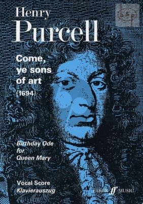 Come Ye Sons of Art (1694) (Birthday Ode for Queen Mary) (SATB-Orch.)