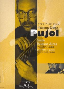 Pujol Suite Buenos Aires Flute et Guitare (Score and separate Guitar Part)